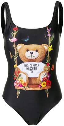 Moschino designer print swimsuit