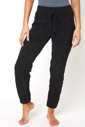 Wild Honey Cable Knit Lounge Jogger