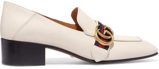 Gucci - Leather Pumps - White $795 thestylecure.com