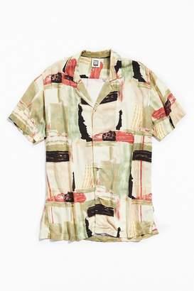 Insight Messy Resort Short Sleeve Button-Down Shirt