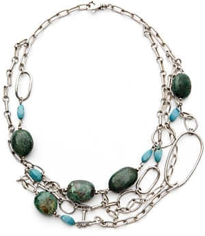 Anna Sheffield Turquoise Link Choker