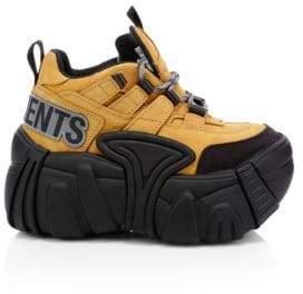 Vetements x Swear Combat Platform Sneakers