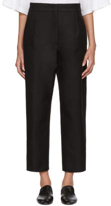 Jil Sander Black Ellias Trousers