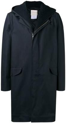 Stephan Schneider hooded mid-length coat