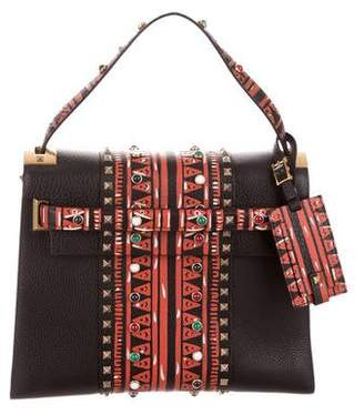 Valentino 2016 My Rockstud Tribal Top Handle Bag w/ Tags