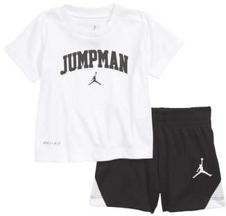 Jordan Jumpman Graphic T-Shirt & Shorts Set