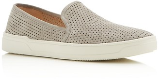 Via Spiga Galea Perforated Slip-On Sneakers $175 thestylecure.com