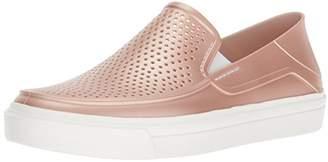 Crocs Women's Citilane Roka Metallic SLP W Sneaker
