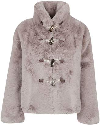 Golden Goose Faux Fur Toggle Jacket