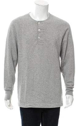 Our Legacy Long Sleeve Henley Sweater