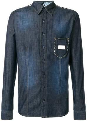Philipp Plein denim style classic shirt