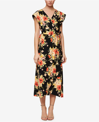 Sanctuary Floral-Print Wrap Midi Dress $139 thestylecure.com