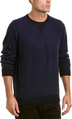 Vince Birdseye Wool & Cashmere-Blend Crew Sweater