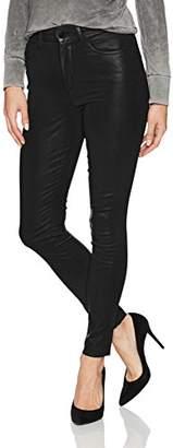 Joe's Jeans Women's Charlie High Rise Coated Skinny Ankle Jean
