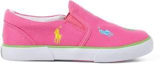 Ralph Lauren Bal Harbour Multi Pony Slip-On