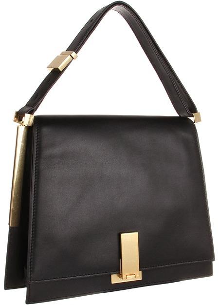 Z Spoke Zac Posen Loren Flap (Black) - Bags and Luggage