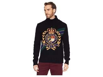 Polo Ralph Lauren Washable Cashmere 1/2 Zip Sweater