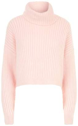3.1 Phillip Lim Cropped Roll Neck Sweater
