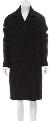 Bottega Veneta Wool Double-Breasted Coat