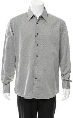 Versace Patterned Button-Up Shirt w/ Tags