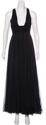 Versace Sleeveless Maxi Dress