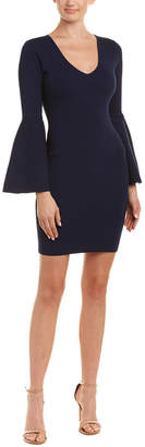 Milly Swing Sleeve Sheath Dress