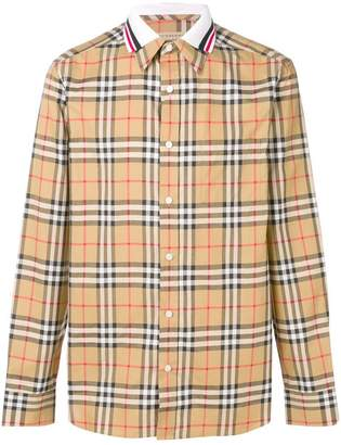 Burberry Edward check shirt