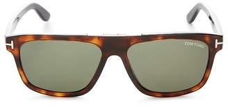 Tom Ford Men's Cecilio Flat Top Square Sunglasses, 56mm