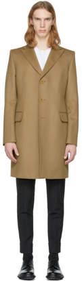 Bottega Veneta Tan Cashmere Coat