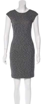 Theory Wool-Blend Mini Dress