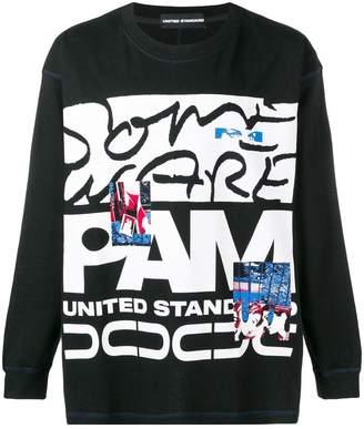 United Standard loose-fit printed sweatshirt