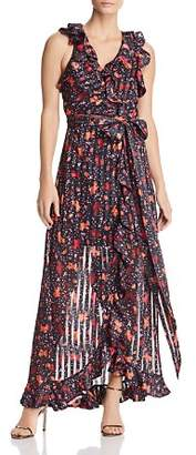 C/Meo Collective Significant Maxi Wrap Dress