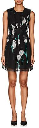 Cynthia Rowley WOMEN'S DAISY-PRINT SILK DRESS