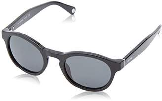 Jack Spade Men's Collin Polarized Round Sunglasses