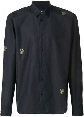 Versace embroidered shirt