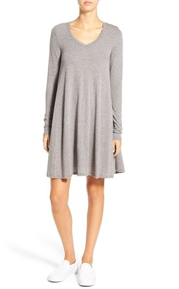 Volcom 'Lived in Snow' Babydoll Dress $39.50 thestylecure.com