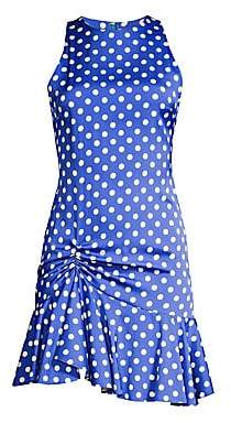 Caroline Constas Women's Audrina Polka Dot Mini Dress