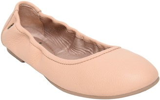 Minnetonka Leather Ballet Shoes - Anna Ballet Flat