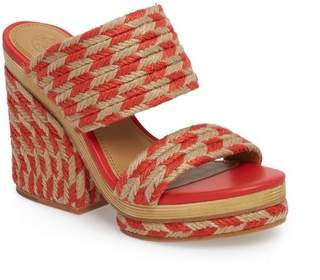 71bbab27e9a Tory Burch Wrapped Heel Women s Sandals - ShopStyle