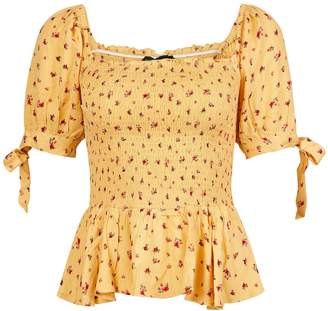 f685c24432c82f Dorothy Perkins Yellow Tops For Women - ShopStyle UK