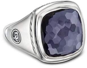 David Yurman Sterling Silver Albion Black Orchid Ring