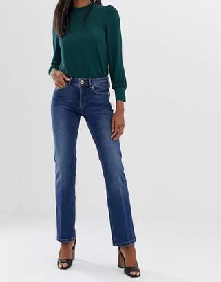 Oasis kick flare jeans in dark wash