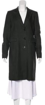 Etro Notch-Lapel Knee-Length Coat