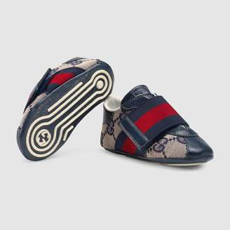 Gucci Baby GG sneaker with Web detail
