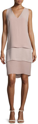 Ralph Lauren Collection Belinda Sleeveless Tiered Dress, Rose $1,795 thestylecure.com