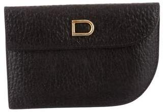 Delvaux Leather Card Holder