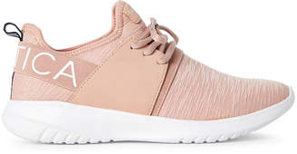 Nautica Dusty Rose Kappil Knit Running Sneakers