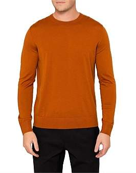 Theory Riland New Sovereign Wool Crew Neck Knit
