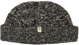935f04687d7 40 Colori - Charcoal Melange Wool   Cashmere Fisherman Beanie
