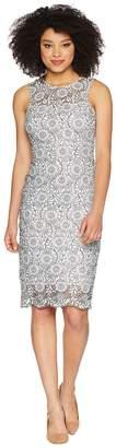 Calvin Klein Lace Sheath Dress CD8L54CY Women's Dress
